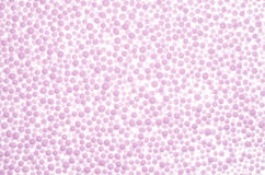 Abstract background from pink styrofoam ball texture Royalty Free Stock Photography