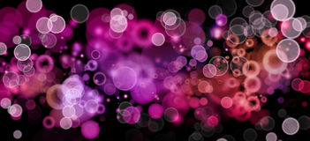 Abstract background. Abstract pink tone circles background Stock Image
