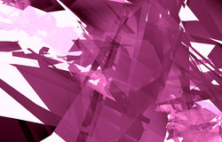 Abstract background pink. Unique beautiful patterned digital pink 3d abstract background wallpaper Stock Photography