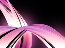 Abstract background. With pink waves stock illustration
