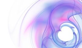 Abstract background. Abstract pink and white heart  background design. Detailed computer graphics. Fractal Stock Photos