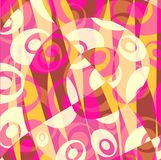 abstract background pink yellow Στοκ Εικόνες