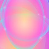 Abstract Background. Abstract Pink Yellow Background. Abstract Pink Circle Pattern Royalty Free Stock Images