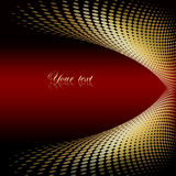 Abstract background with a place for the text . Abstract background in red and yellow with a place for the text Royalty Free Stock Photo