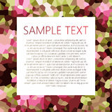 Abstract background with place for text Royalty Free Stock Images