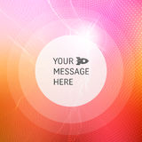 Abstract background with Place for Text. Vector Illustration. Design Template. Perspective Grid Background Stock Photo