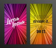 Abstract background with place for your own text. Vector art Royalty Free Stock Photos