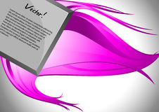 Abstract background with place for your text. Vector illustration royalty free illustration