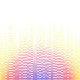 Abstract background point and midtones. White space for text. Vertical lines Royalty Free Stock Photos