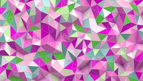 Abstract background with poly. 3d Abstract background with poly Stock Photography