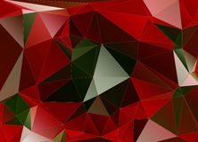Abstract background polygon Stock Image