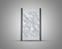 Abstract background polygonal design Stock Image