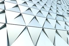 Abstract background of polygonal shape. Abstract 3D minimalistic geometrical background of triangles Stock Images