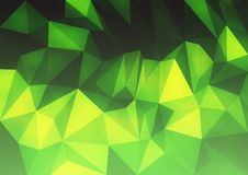Abstract background in the polygonal style. The surface of the triangles. Royalty Free Stock Photos