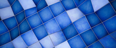 Abstract background. Abstract polygons background in blue vector illustration