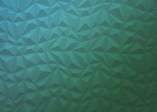 Abstract background of polygons on blue and green background. Abstract background of polygons on blue with green background Royalty Free Stock Images