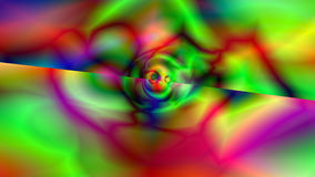 Abstract background with Psychedelic art. Digital backdrop. 3d render Stock Photography