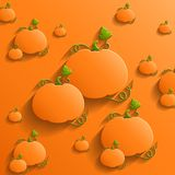 Abstract Background with Pumpkins Stock Photos