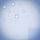 Abstract background Pure Water. Stock Photos