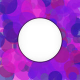 Abstract  background with purple elements Royalty Free Stock Images