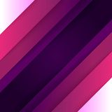 Abstract background with purple paper layers Stock Image