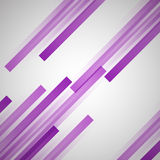 Abstract background with purple straight lines. Stock vector Stock Photos
