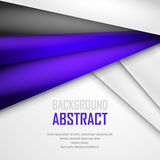 Abstract background of purple, white and black. Origami paper. Vector illustration. EPS 10 Stock Photos