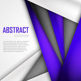 Abstract background of purple, white and black. Origami paper. Vector illustration. EPS 10 Stock Images