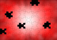 Abstract background puzzle Stock Images