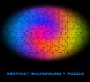 Abstract background puzzle. Abstract colorful texture of puzzle royalty free illustration