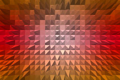 Abstract background with pyramid extrude Stock Photo
