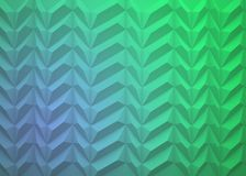 Abstract background of pyramids on blue and green background. Abstract background of pyramids on blue with green background Stock Photography