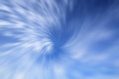 The abstract background. The abstract radial blue blured background Royalty Free Stock Photography