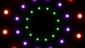 Abstract background with radial lights. 3d rendering royalty free illustration