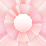 Abstract background of radial lines. Shades of pink. Empty space Royalty Free Stock Photography