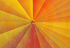 Abstract background with radiating rays Stock Photography