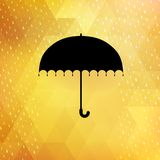 Abstract background with rain pattern. EPS 10 Stock Photography