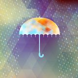 Abstract background with rain pattern. EPS 10 Royalty Free Stock Images