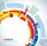 Abstract background with rainbow Royalty Free Stock Photography