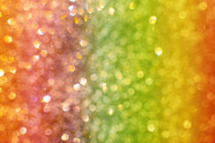Abstract background with rainbow bokeh Stock Image