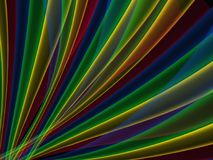 Abstract background in rainbow bright colors Stock Photo