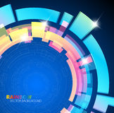 Abstract background with rainbow colors Royalty Free Stock Photos