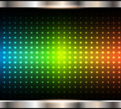 Abstract background, rainbow dots pattern. Vector illustration Royalty Free Stock Images
