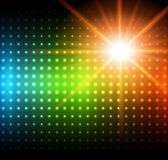 Abstract background rainbow dots Royalty Free Stock Photography