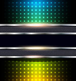 Abstract background. Rainbow dots, vector illustration Royalty Free Stock Image