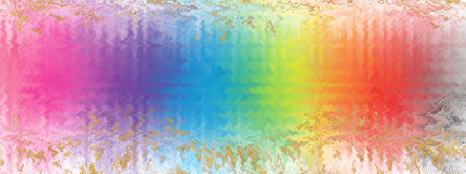 Abstract Background Rainbow Glass Blur Royalty Free Stock Photo