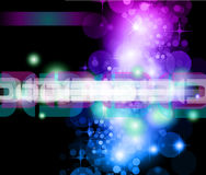 Abstract Background with Rainbow Gradient. Light Sparkle Background with Rainbow Gradient Stock Photography