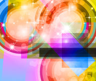 Abstract Background with Rainbow Gradient. Light Sparkle Background with Rainbow Gradient Royalty Free Stock Photography