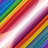 Abstract background with rainbow lines. Illustration for your design Royalty Free Stock Image