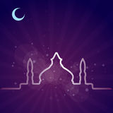 Abstract background for Ramadan Kareem,  Royalty Free Stock Image